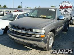 Used Parts 2001 Chevrolet Silverado 1500 4x4 5.3L LM7 V8 | Subway ...