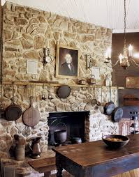 Primitive Decorating Ideas For Fireplace by 42 Cozy Country Ideas For Your Fireplace Hearths Hearth And