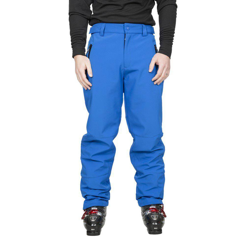 (L, Blue) Trespass Mens Westend Stretch Waterproof Ski Trousers