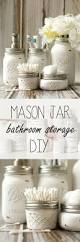 Pink Mercury Glass Bathroom Accessories by Mason Jar Bathroom Storage U0026 Accessories Mason Jar Crafts Love