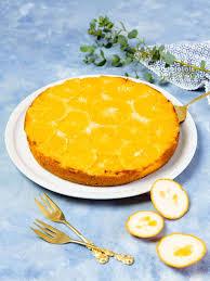 kuchen mit orangen