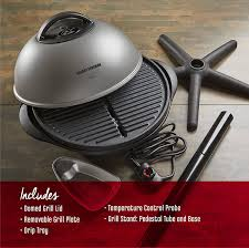 Char Broil Patio Caddie Manual by Amazon Com George Foreman 15 Serving Indoor Outdoor Electric