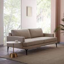 Andes Sofa Stone 194 Cm West Elm UK