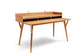 table de bureau bureau design scandinave en bois et convertible emme dewarens