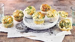 spinat feta muffins