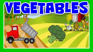 100 Dump Truck Song Vegetable Learn Vegetable Names With Vegetable