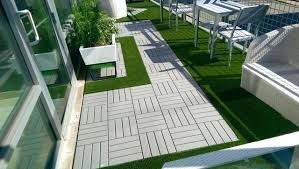 deck tiles on grass balcony deck tiles high density turf can you