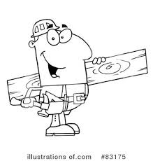 Woodworking Clipart Tools Colouring Pages Clip Art Images