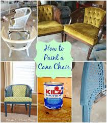 How To Paint A Chair With Regular Paint   Whats Ur Home Story Updating And Upholstering A Cane Back Chair On Budget Youtube Modernizing An Old Caneback Chair With Tufting Diy Your Home Avignon Round Cane Back Ding Closing Down Price Was 449 Planters Chairs Yellow Ottoman Stool Leopard Caneback Comfortable Sofa Armchair Arranged Around 51 Best Living Room Ideas Stylish Decorating Designs The Bbara Barry Collection Baker Fniture Bavette French Country Cream Linen Limed Oak Side Inviting Ding Round Chairs Awesome Images About 2016 High Quality Indoor Wooden Lounge Sofa Cushion 2 English Adam Style 1819th Cent Satinwood Side