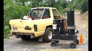 100 Wood Gasifier Truck Thrive Off Grid Utility Series IV