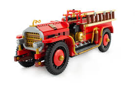 100 Antique Fire Truck BrickLink AFOL Designer Program Winner
