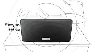Sonos Ceiling Speakers Australia by Play 3 U2014 Mid Size Home Speaker With Stereo Sound Sonos