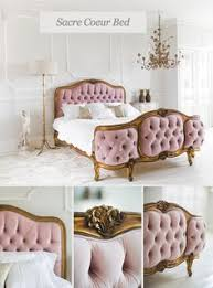 Purple Velvet King Headboard by Frilly Bed Antique French Upholstered White King Bed With
