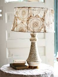 Doily Covered Lampshade Diy