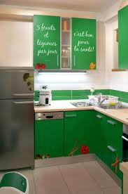 stickers porte placard cuisine stickers muraux légumes