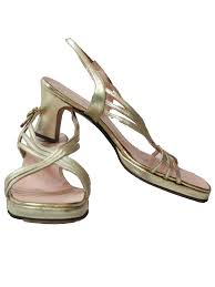retro 60 u0027s shoes 60s amano bootier designer womens gold