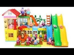 peppa pig blocs mega house jouets pour enfants lego duplo maison