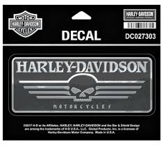 Harley-Davidson® Linear Skull Decal | Chrome | Medium DC027303 Unique Harley Davidson Decals For Golf Carts Northstarpilatescom Saddle Bag On A Motorbike With Sticker Saying Hog Vinyl Flame Wrap Flame Decals Are The Gas Tank Stamped In Or That Gets Ford Harleydavidson F150 Motor1com Photos Auto Trim Design Lightning And Graphic Wrap Kit 1991 Amazoncom Logo Cutz Rear Window Decal Whosale Now Available At Central Items 1 40 Die Script High Quality White Bling Full Color Wall 8 X 10 Sticker