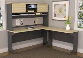 Ameriwood L Shaped Desk Assembly by Ameriwood Furniture Pursuit L Shaped Desk With Hutch Bundle Natural