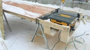 Portable Table Saw Stands Stand Page 2 Woodworking Talk Woodworkers