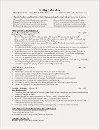 ResumeRetail Manager Resume Template New Store Examples Example Sample Dayjo Objective Cv Uk Assistant
