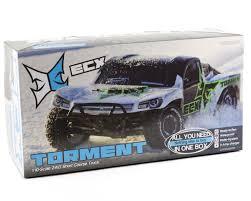 100 Waterproof Rc Trucks ECX RC Torment 110 2WD Short Course Truck WDX2E 24GHz Radio