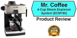 Mr Coffee Steam Espresso Bar ECM160 Review