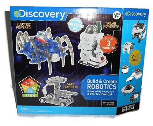 Discovery Build and Create Robotics Toy Set