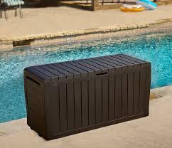 Suncast Resin Deck Box 50 Gallon by Keter Marvel Plus 71 Gallon Resin Deck Box U0026 Reviews Wayfair