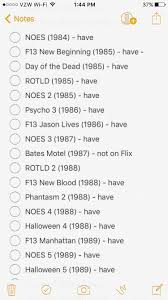 Cast Of Halloween 4 1988 by Halloween Scene The Great Chronological Franchise Project