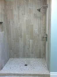 tiles wood look tile shower walls wood look tile shower wood