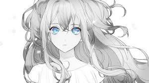 Anime Girl Cool Trang Den