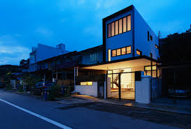 100 Terrace House In Singapore Atelier MA Transforms A 50year Old Terrace House Into A