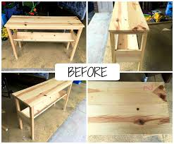 furniture captivating passion for decor diy sofa table from