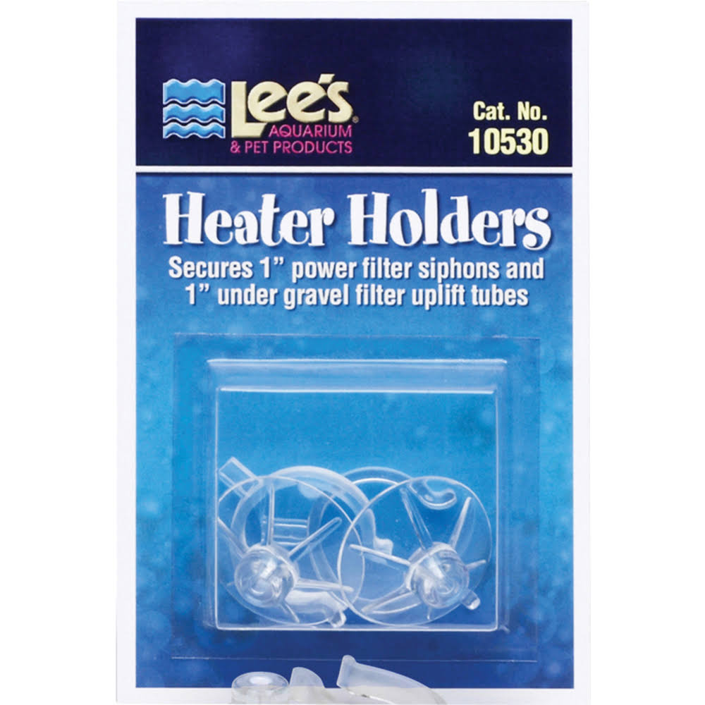 Lees Aquarium Pumps Heater Holders - 2 Pack
