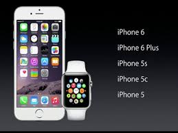 Apple Watch will only work with iPhone 5 and above
