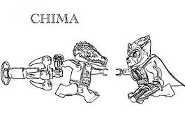 Lego Chima Versus Cragger Coloring Pages PagesFull