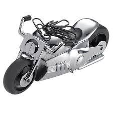 cadeau bureau homme presse papier moto aimantée décoration de bureau accessoires de