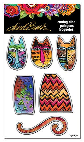Stampendous Laurel Burch Die Set Tribal Cats