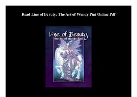 Read Line Of Beauty The Art Wendy Pini Online Pdf