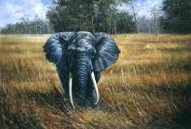 Elephant Painting Art Of Spirit