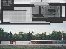 100 Barcelona Pavilion Elevation Mies Van Der Rohe Pavilion Uncovered Covered