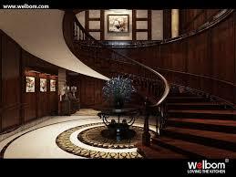 villa intérieur escalier en bois garde corps buy product on