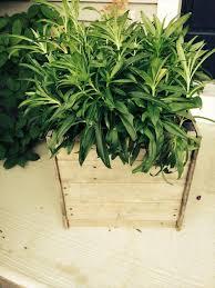 DIY Pallet Planter Box Design
