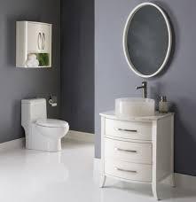 Beautiful Colors For Bathroom Walls by Bathroom Elegance Bright White Oval Bathroom Wall Mirror With
