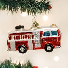 Old World Christmas Fire Truck Glass Christmas Ornament - Putti Fine ... Truck Decorations Parade And Tuning At Semi Racing Event Le Christopher Radko Ornaments Festive Fire Fun Ornament 10195 Fire Truck Stolen Archives Acbrubbishremovalcom Birthday Banner 1st Firefighter Homemade Cake With Candy Firetruck Party The Journey Of Parenthood Christmas Stock Photos Cheap Kids Find Deals On Line Alibacom With Free Printables How To Nest For Less