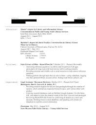 Examples Of Librarian Skills To Put On A Resume Example Platformeco