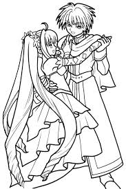 Coloring Pages Mermaid Melody 21