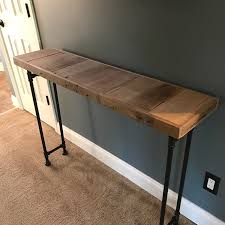 A New Rustic Style Sofa Table Offered By CaseConcepts