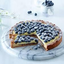 blaubeer puddingkuchen